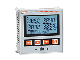 LOVATO Flush-mount LCD multimeters