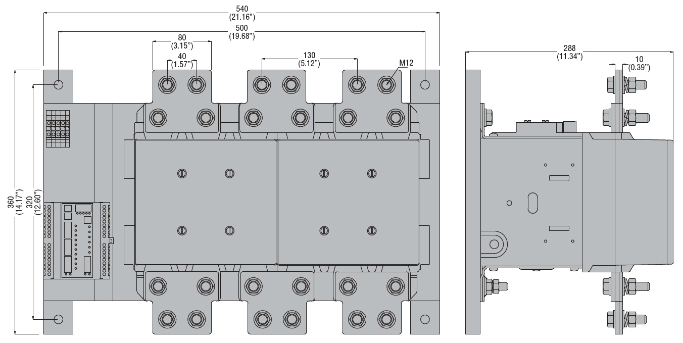 Attractive Mars 61320 Contactor Wiring Diagram Pattern - Electrical ...