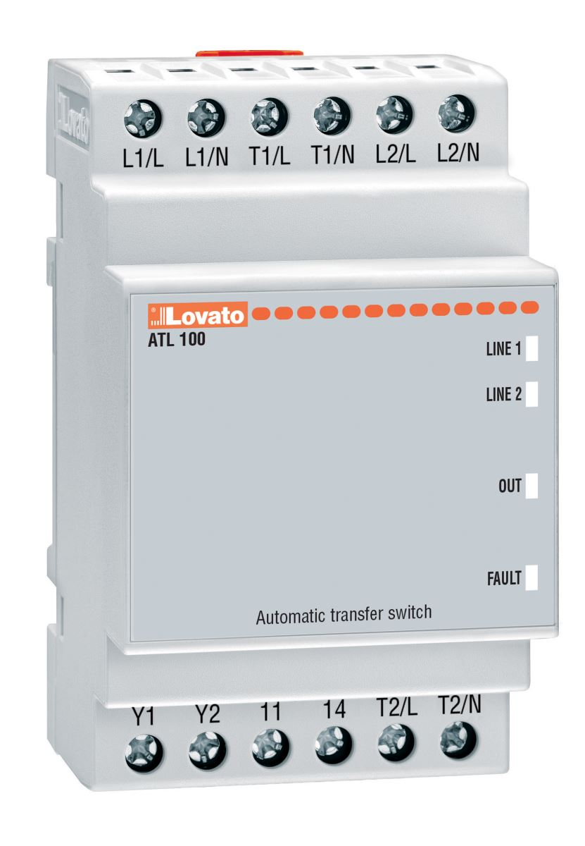 ATL 100 - automatic transfer switch controller