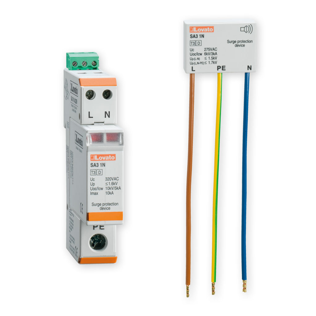 Surge protection devices for electronic equipment protection SA31NAS... series