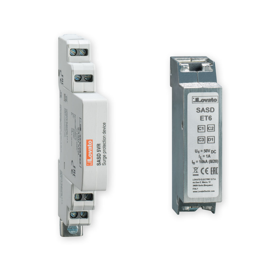 Surge protection devices for data lines protection SASD... series