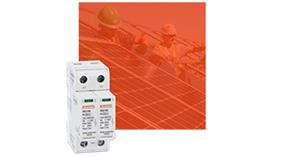 Surge protection devices for photovoltaic applications